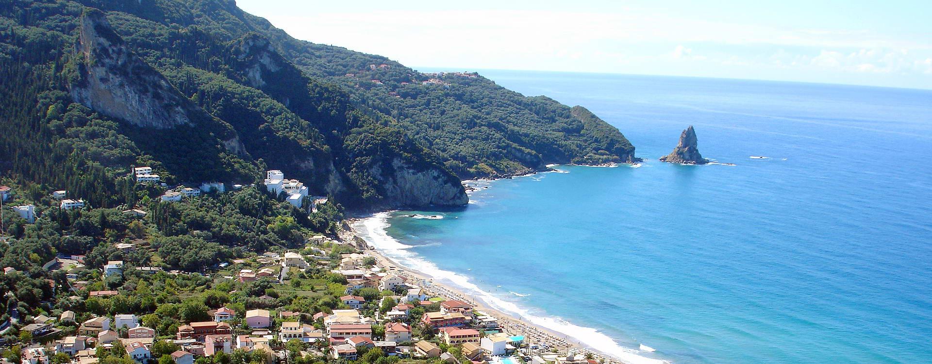 Пляж Агиос Гордиос информация, описание, отзывы и фото